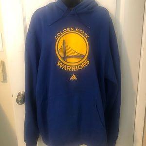Golden state warriors hooded sweatshirt